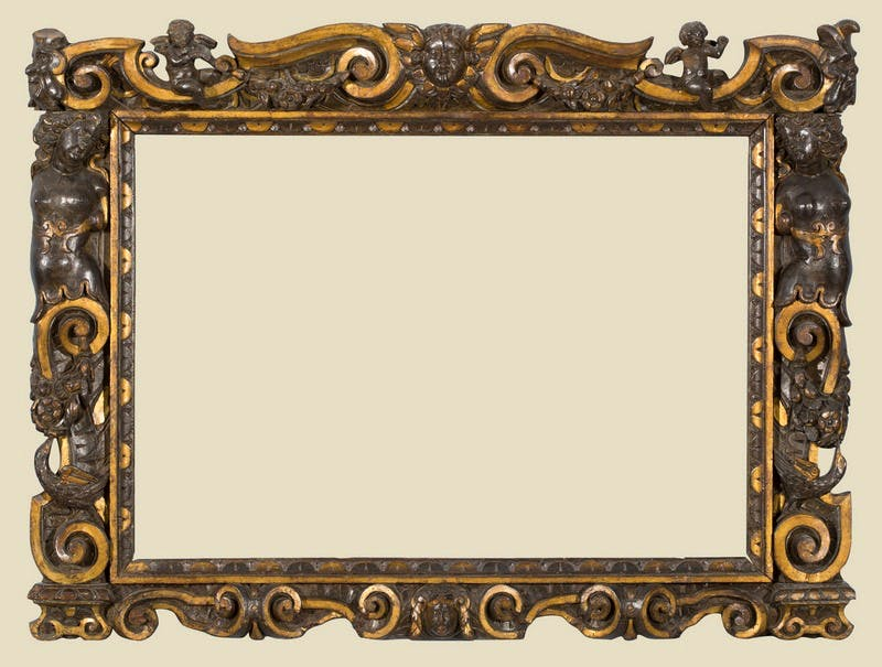 Mirrored frames for pictures