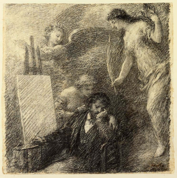 (1895). A completely free Henri Fantin-Latour from the Getty.