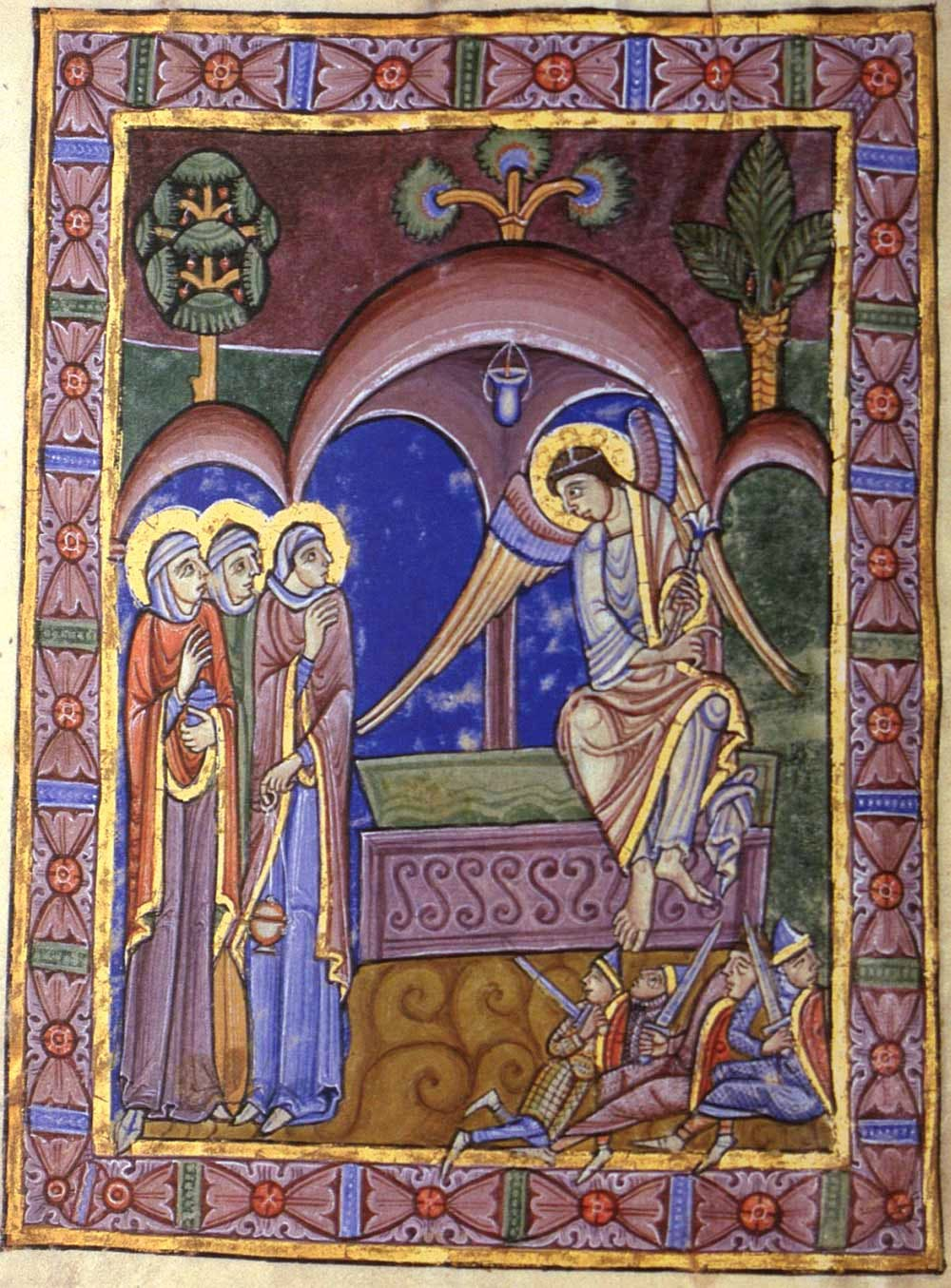 (c. 1130), The Alexis Master, St Albans Psalter,