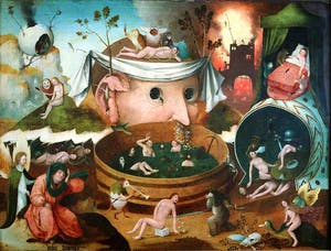 Attributed to the School of Hieronymus Bosch