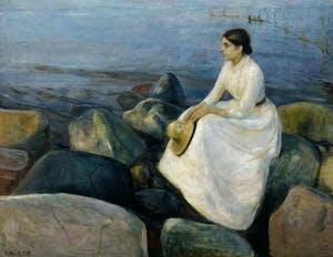 (1889), Edvard Munch