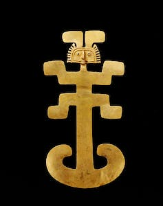 Pectoral, early Tolima (1 BC–700 AD)