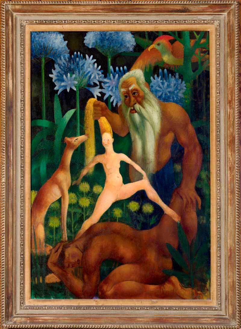 (1914), Mark Gertler,