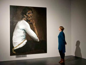 Lynette Yiadom-Boakye's work at the Turner Prize