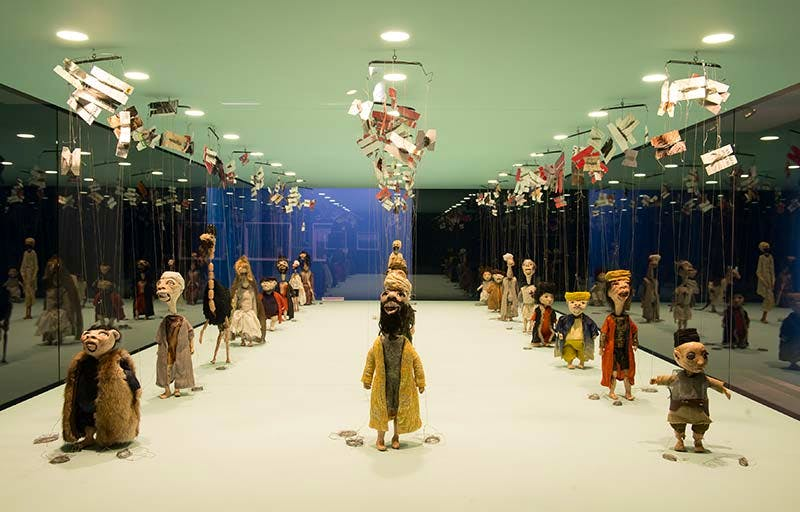 Wael Shawky, installation view at the Serpentine Gallery, 2013