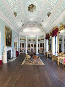 The newly restored Library at Kenwood House