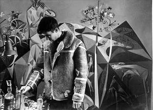 John Craxton working on Pastoral for P.W. (1948)