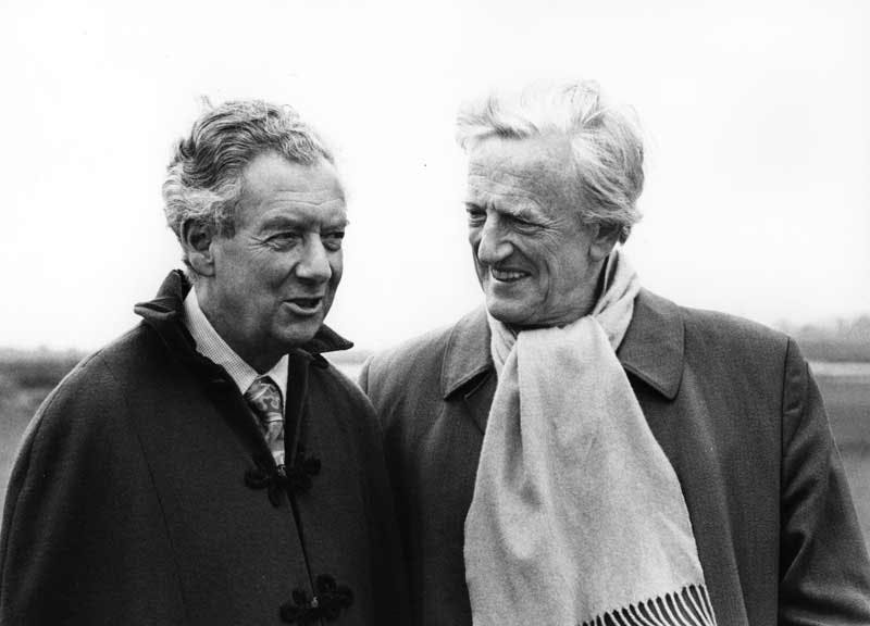 Britten with Pears at Snape