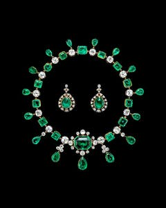 Emeralds of Empress Ekaterina II of Russia (Catherine the Great), (1830)
