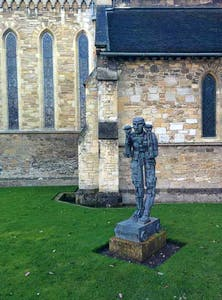 (1994), Eduardo Paolozzi, in the Jesus College grounds