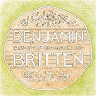 Tom Phillips's design for the Britten 50p