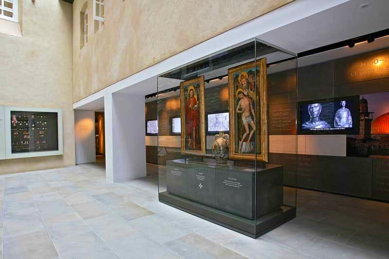 The Link Gallery at the Museum of the Order of St John