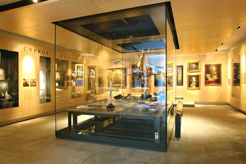 The Order Gallery at the Museum of the Order of St John