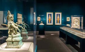 Gallery view, 'Yoga: The Art of Transformation', Arthur M. Sackler Gallery, Smithsonian.