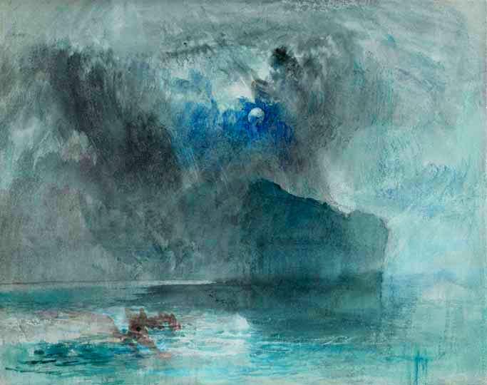 6.-Courtauld---Turner's-Lake-Lucerne-towards-Fluelen