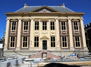 The Mauritshuis, currently being renovated and due to open in June 2014
