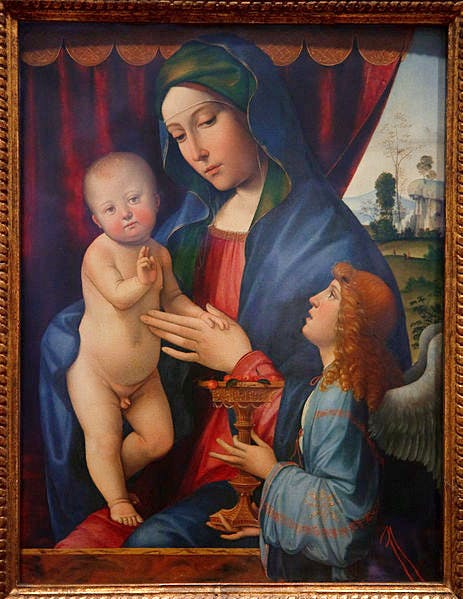 (c. 1495–1500), Francesco Francia. A copy of this original painting is in the National Gallery's collection