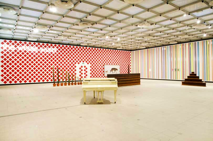 'What's the point of it?' Installation view at the Hayward Gallery, London 2014