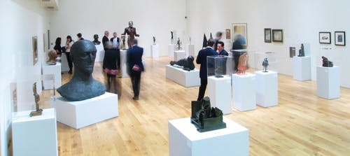 '2D: 3D' – an exhibition in the main gallery in 2008