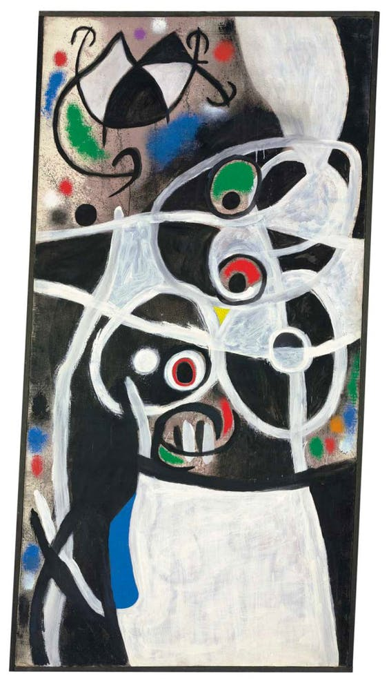 (3 January 1968), Joan Miró. Christie's withdrew this work, and the rest of its consignment, from its London auctions this week