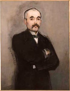 'Georges Clemenceau' (1879–80), Edouard Manet.