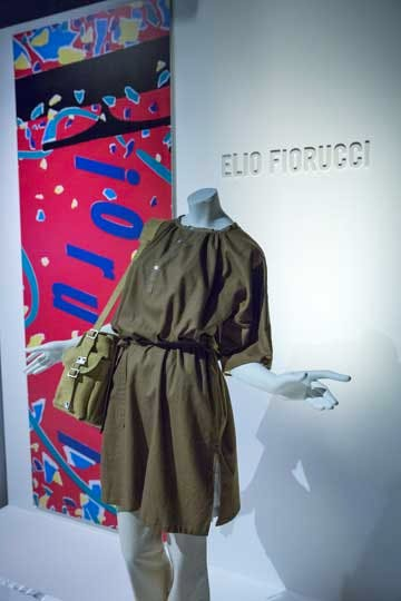 Installation view of 'The Glamour of Italian Fashion 1945–2014'.