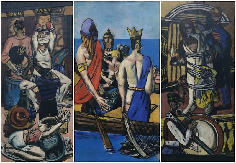 'Departure' (1932–35), Max Beckmann. The Museum of Modern Art, New York.