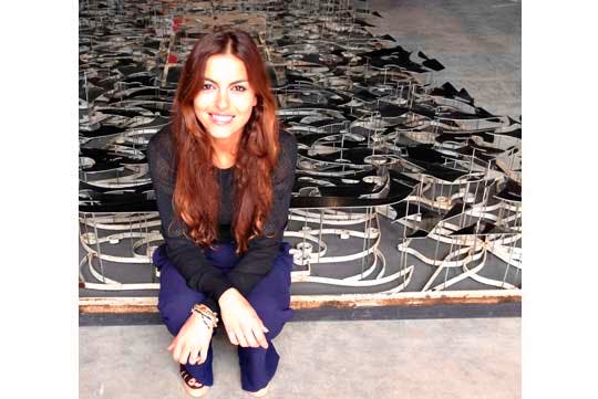 Aida Mahmudova founded YARAT, a not-for-profit organisation that supports and promotes Azerbaijani art, in 2011.