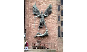 (at Coventry Cathedral), Jacob Epstein.