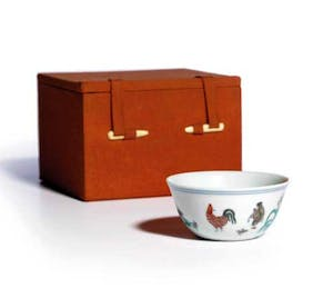 The Meiyintang 'Chicken Cup' (panorama)