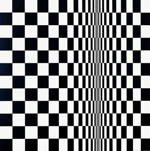 Bridget Riley, Movement in Squares, 1962. Arts Council Collection, Southbank Centre, London © Bridget Riley 2013. All rights reserved, courtesy Karsten Schubert, London