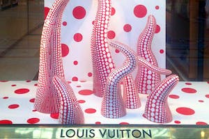 Louis Vuitton memorably paired up with the artist Yayoi Kusama in 2012