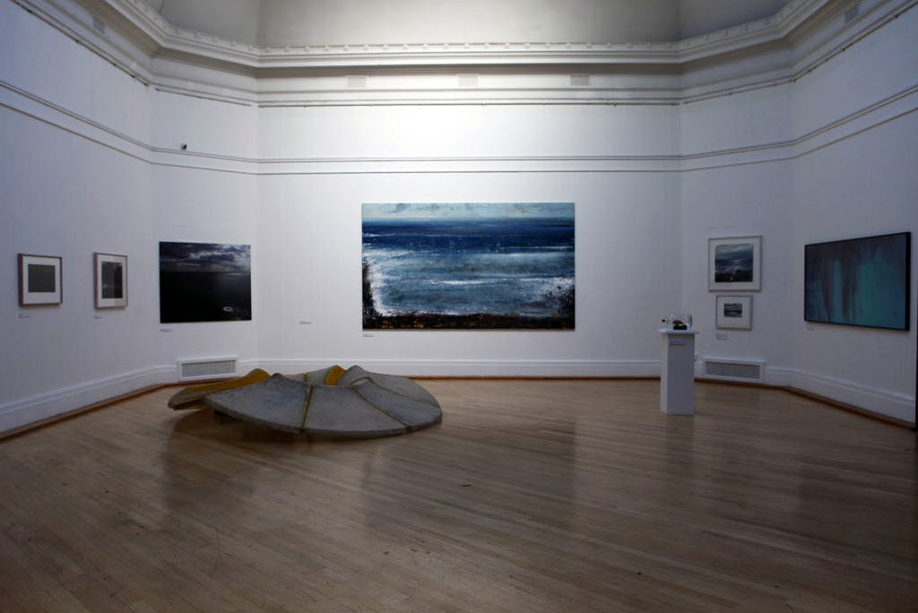 'The Power of the Sea' at the Royal West of England Academy (installation photo, 2014)