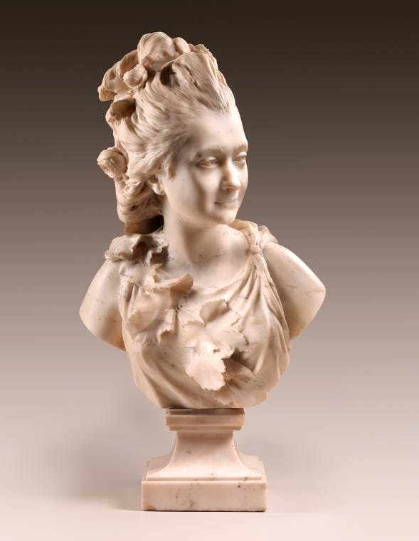(1777), Jean-Antoine Houdon.