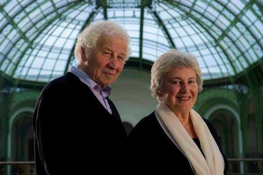 Ilya and Emilia Kabakov in the Grand Palais