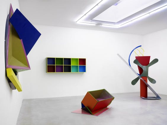 Installation view: Phillip King at Le Consortium, Dijon, 2013.