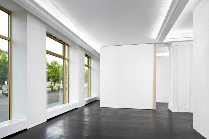 (installation view, 'Emotional Paintings' at Peres Projects; 2014), David Ostrowski.