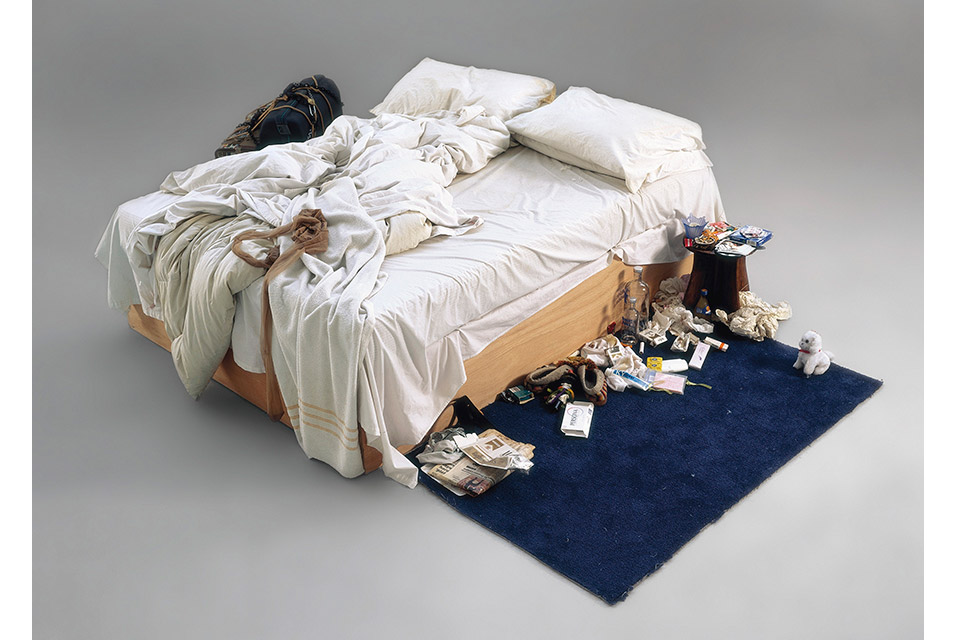 The most famous bed in art? Tracey Emin's 'My Bed' is up for