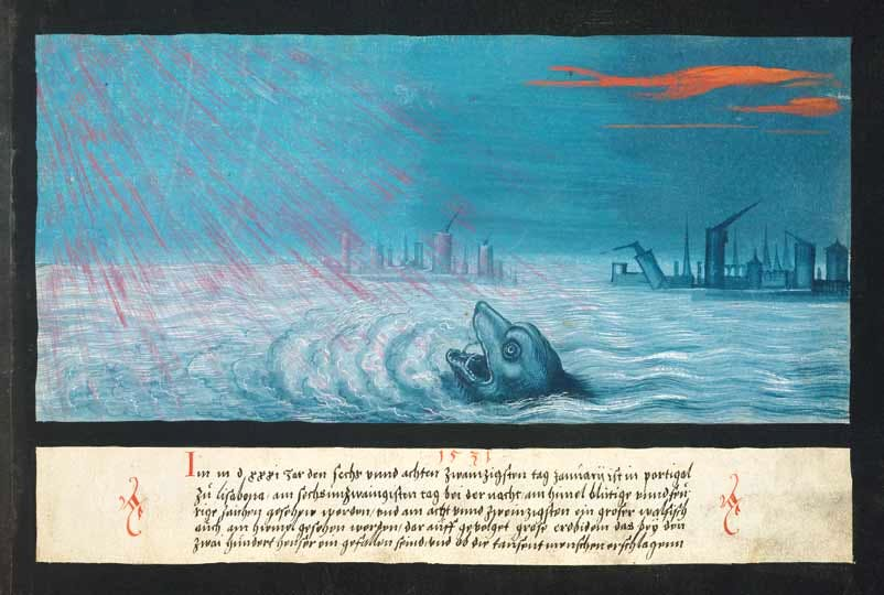 1531 – Whale and earthquake in Lisbon