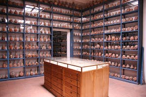 The Storage Gallery of the Larco Museum in 2006.