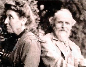 William and Evelyn De Morgan (c. 1900)