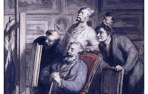 (detail; 1865–8), Honoré Daumier.