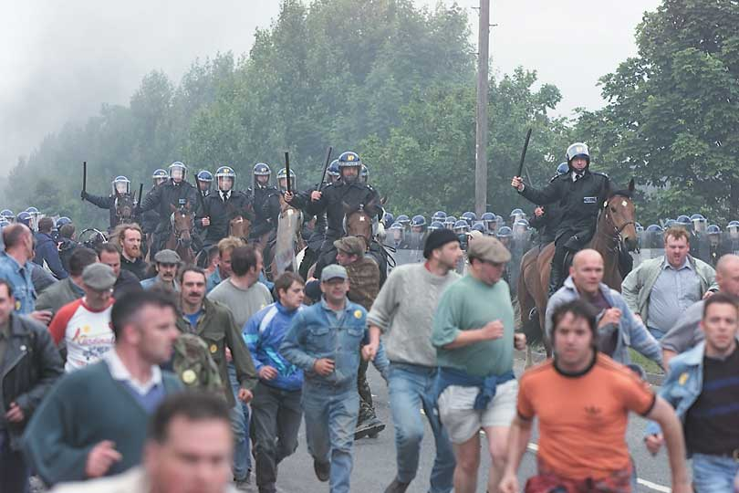 The Battle of Orgreave and 'The Battle of Orgreave'   Apollo Magazine