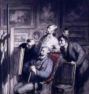(1865–8), Honoré Daumier.