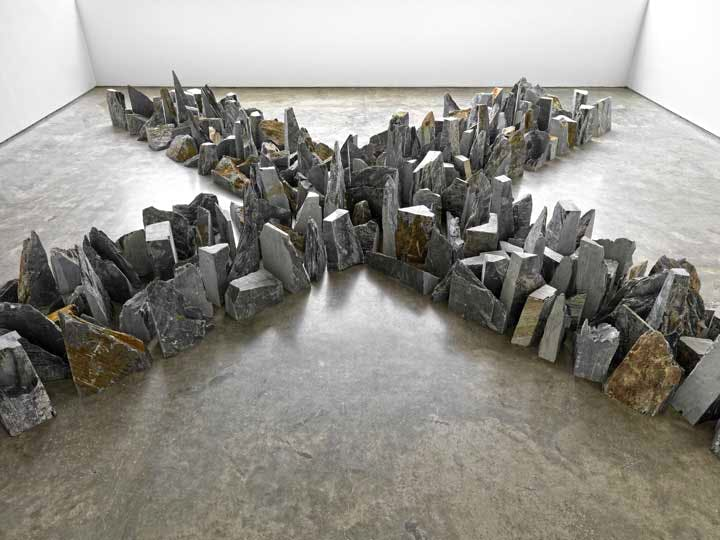 Installation view: Richard Long at Lisson Gallery, London (23 May–12 July)