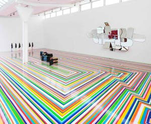 Zobop, installation view at The Fruitmarket Gallery, Edinburgh, 2014. Courtesy The Fruitmarket Gallery, photograph by Ruth Clark.