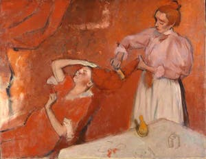 'Combing the Hair ('La Coiffure')' (c. 1896), Hilaire Germain Edgar Degas. The National Gallery, London