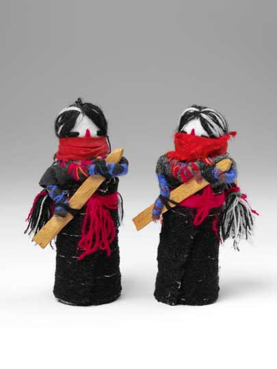 Dolls of the Zapatista Revolution, The Zapatista, Mexico. Victoria and Albert Museum, London