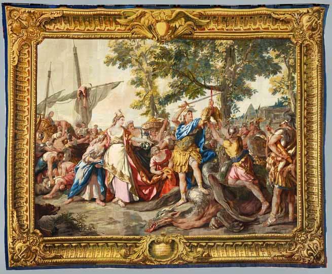 (17847), woven in the workshop of Pierre-François Cozette.