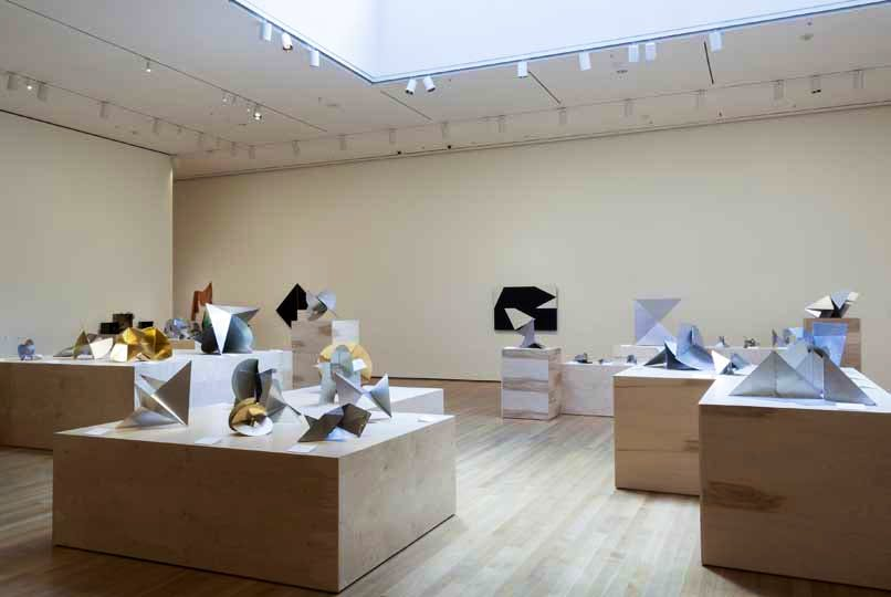 Installation view of Lygia Clark: The Abandonment of Art, 1948-1988 at The Museum of Modern Art, New York (May 10–August 24, 2014). Photo by Thomas Griesel. © 2014 The Museum of Modern Art